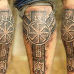 Обережные славянские татуировки