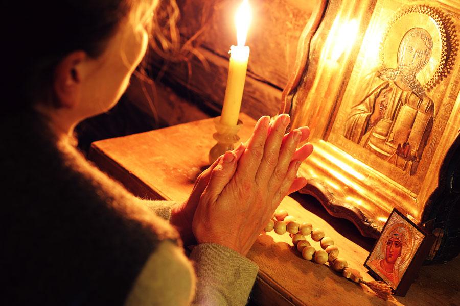 В какие моменты можно молиться