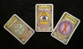 Гадание на измену по 3 картам
